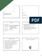 slides sobre comunicação na prática do assistente social