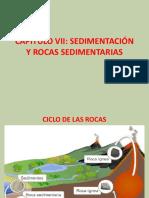 CAPITULO VII SEDIMENTACIÓN Y ROCAS SEDIMENTARIAS (1).pptx