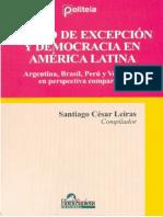 Santiago Leiras - Estado de excepcion y democracia en America.pdf