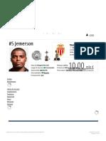 Jemerson - Profilo Giocatore 182f19 Transfermarkt