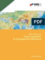 QA Manual Chinese Legislation on GIs1012