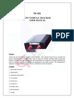 Manual GPS tracker