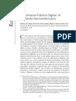 Diplomacia pública digital