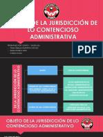 Objeto de La Jurisdicción de Lo Contencioso Administrativa en Colombia