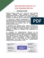 LA ADMINISTRACIÓN PÚBLICA Y EL DERECHO ADMINISTRATIVO.docx