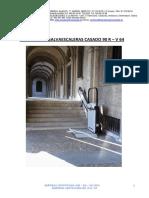 18716_Plataforma Salvaescaleras Casado 90 R - V 64. Manual Usuario