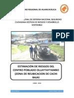 Estimacion de riesgos del centro poblado Ollantaytambo.pdf