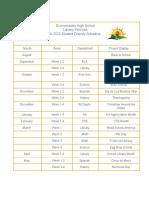 library calendar