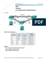 4.2.1.4 Lab - Configuring EtherChannel.docx