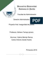 Derecho Administrativo- Proyecto Geolocalizacion 9-1-1