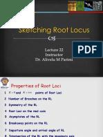 Lecture 22 Root Locus
