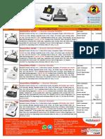 Price List Scanner Plustek 5 Januari 2019