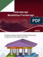 Hidroterapi Modalitas Ft