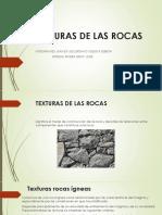Texturas de Las Rocas