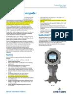 Flow Comp Fb1100 Datasheet