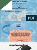 FACTORES DE RIESGO Y PROTECCION DE CONSUMO DE DROGAS