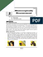 Microscopically Measurement