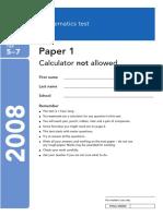 2008 KS3 Maths Level 5-7 Paper 1.pdf