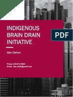 Indigenous Brain Drain Initiative