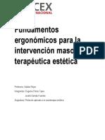 Fundamentos Ergonómicos Para La Intervención Maso Terapéutica Estética