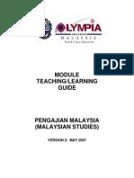 Malaysian Studies TL Guide