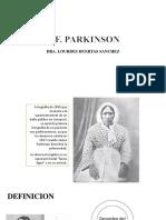 3. Enfermedad de Parkinson