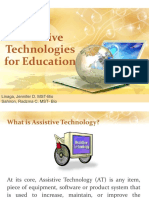 Assisstive Technologies for Education