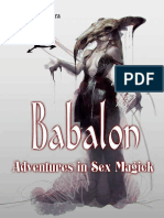Babalon Adventure in sex magic