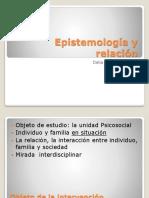 Epistemología y Relación