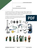 Lectura 07 Instrumentos de Medición en Electricidad