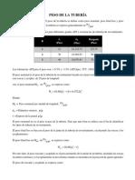 1.3.8 PESO DE LA TUBERÍA  (CARLA CHOROLQUE B..docx