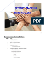 Competency Mapping - Health Care