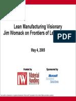 Industryweek Webcast Slides