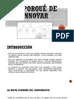 El Porqué de Innovar