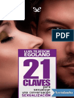 21 Claves Para Sexualizar Una Conversacion - Luis Tejedor