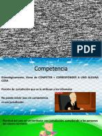 COMPETENCIA Derecho Procesal Laboral