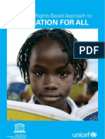 A Human Rights-Based Approach to Education for All