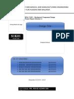 BDA 31203 Binding Report Format