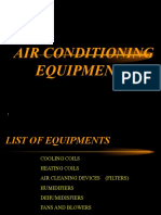 Air Conditioning Equipments | Filtration | Mechanical Fan