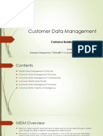 customer relationship analysis