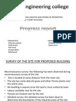 progress report on project