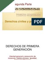 Derechos de Primera Generación