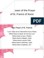 01 - Danny Gorgonia - Prayer of Saint Francis