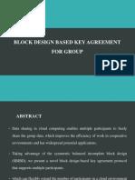 Block Design Based Key Agreement for Group.pptx