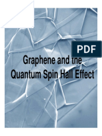 Graphene and the Quantum Spin Hall Effect
