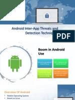 Inter-App Security Threats