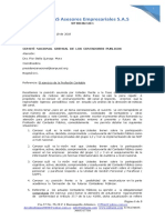 Carta a Comite Nal Gremial CP