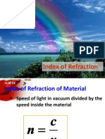index of refraction lecture
