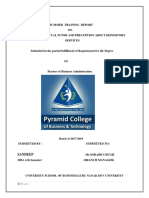 study of mutual fund and perception about depository services.docx