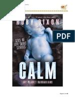 Ruby Dixon - Serie Ice Planet Barbarians 07,5 - Barbarian Calm
